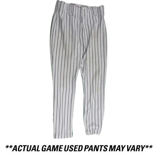 Photo of Adam Warren New York Yankees 2016 Team Issued #43 Home Pants (36-43-34)