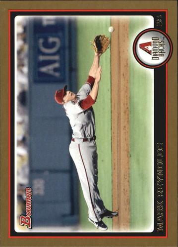 Photo of 2010 Bowman Gold #189 Mark Reynolds -- Rockies post-season