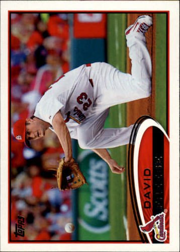 Photo of 2012 Topps #273A David Freese