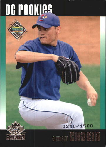 Photo of 2002 Upper Deck Diamond Connection #102 Gustavo Chacin DC RC