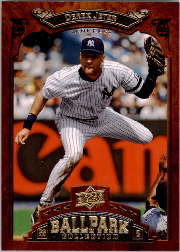 Photo of 2008 Upper Deck Ballpark Collection #64 Derek Jeter