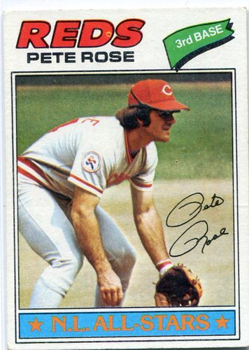 Photo of 1977 Topps #450 Pete Rose