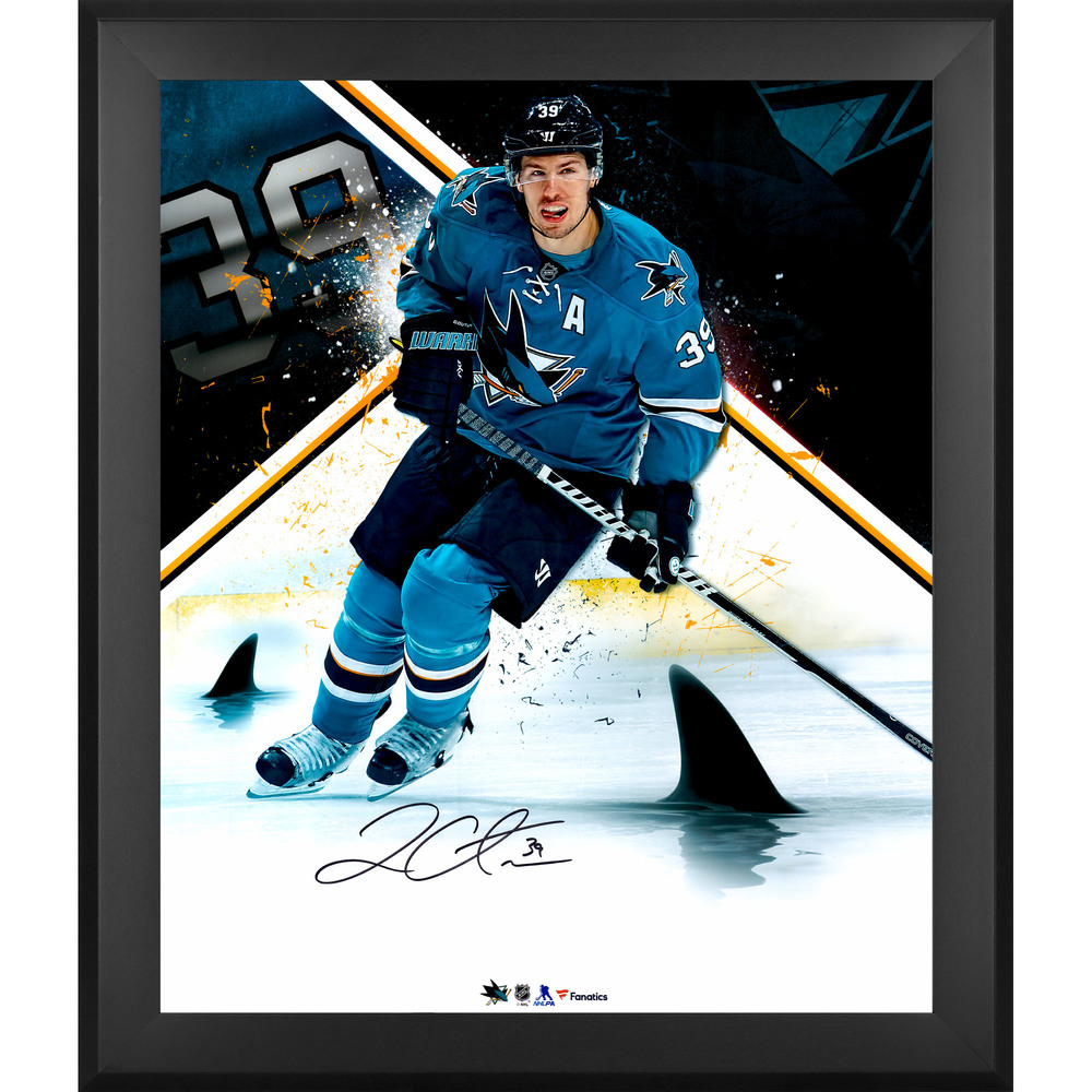 Logan Couture San Jose Sharks Framed Autographed 20