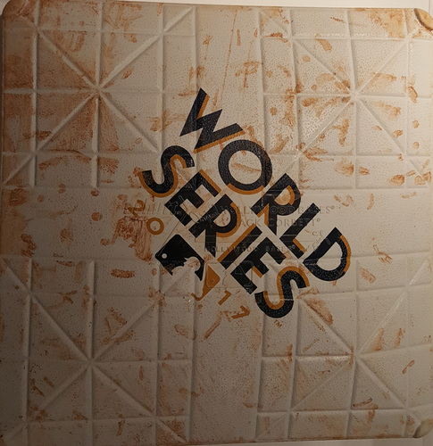 Photo of 2017 World Series Game 3: Game-Used Second Base, Used Innings 3 and 4
