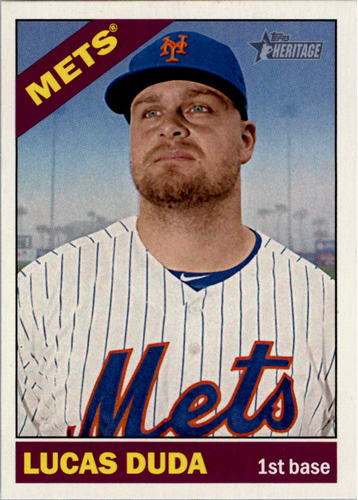 Photo of 2015 Topps Heritage #395 Lucas Duda
