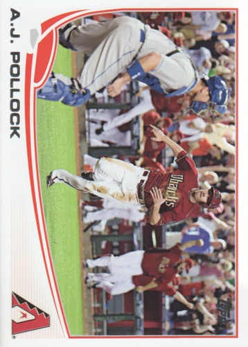Photo of 2013 Topps Update #US34 A.J. Pollock