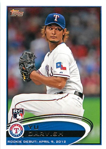 Photo of 2012 Topps Update #US168 Yu Darvish RC