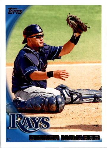 Photo of 2010 Topps #585 Dioner Navarro