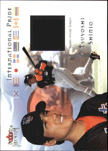 Photo of 2002 Fleer Premium International Pride Game Used #10 Tsuyoshi Shinjo Jsy