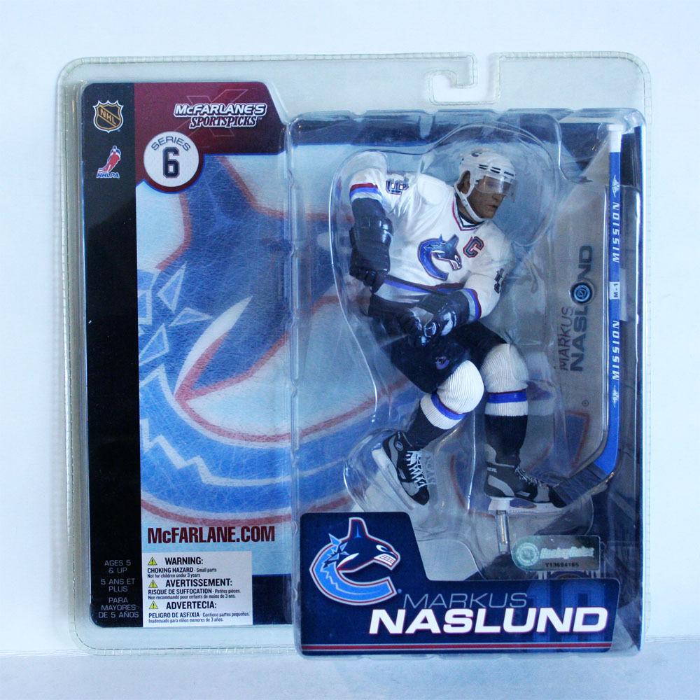 Marcus Naslund Vancouver Canucks Rare Chase McFarlane Figurine