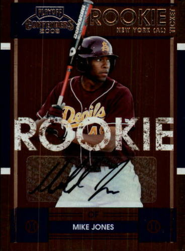 Photo of 2008 Playoff Contenders #107 Mike Jones AUTO