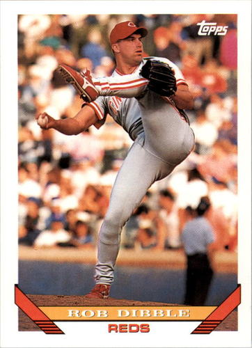 Photo of 1993 Topps #470 Rob Dibble