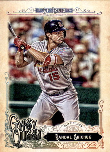 Photo of 2017 Topps Gypsy Queen #69 Randal Grichuk