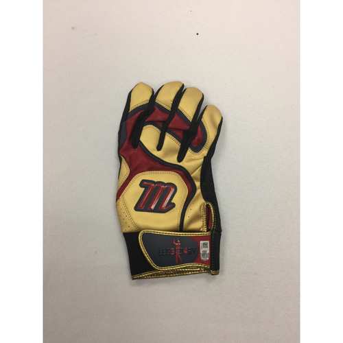 Photo of David Ortiz Game-Used, autographed September 4, 2016 Batting Glove