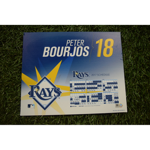 2017 Team-Issued Locker Tag - Peter Bourjos