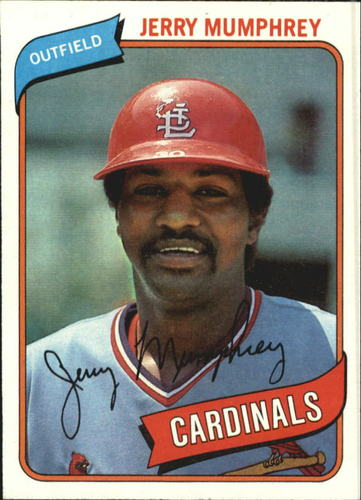 Photo of 1980 Topps #378 Jerry Mumphrey