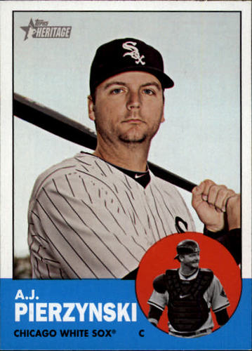 Photo of 2012 Topps Heritage #118 A.J. Pierzynski