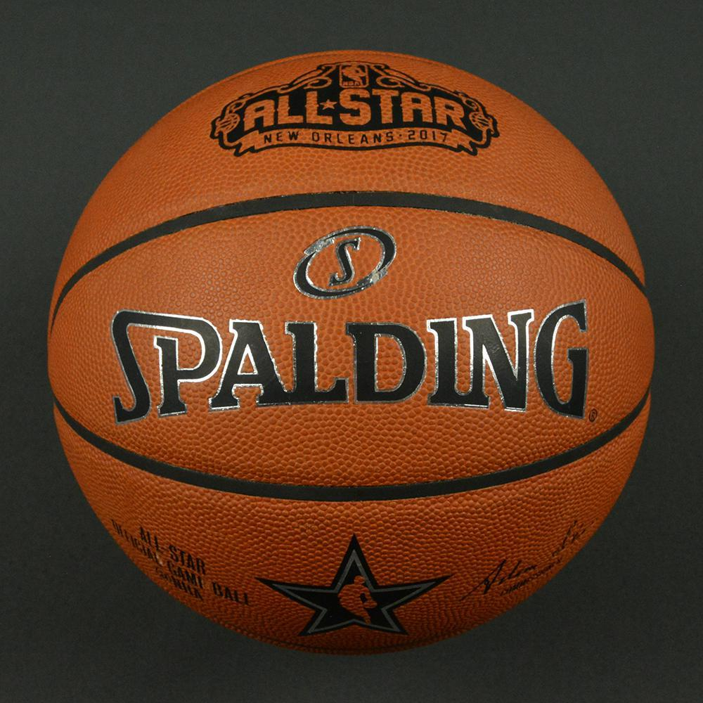 NBA All-Star Game 2017 - Game-Used Basketball (Opening Tip-Off)