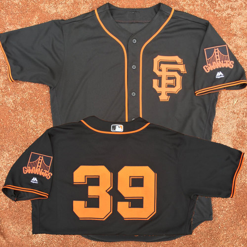 San Francisco Giants - Game-Used Jersey - Carlos Moncrief - Worn on 8/7 and 8/19