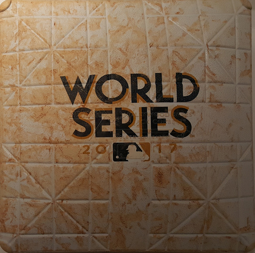 Photo of 2017 World Series Game 5: Game-Used First Base, Used Innings 7-10