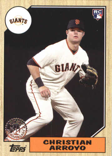 Photo of 2017 Topps Update '87 Topps #US8730 Christian Arroyo