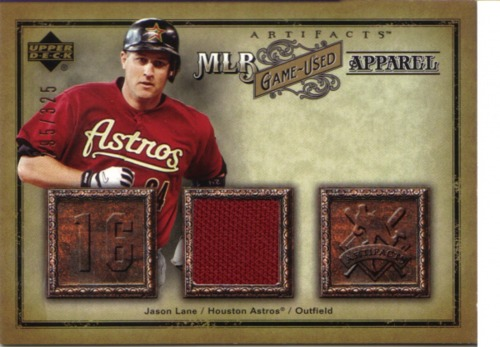 Photo of 2006 Artifacts MLB Game-Used Apparel #JL Jason Lane Jsy/325