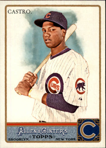 Photo of 2011 Topps Allen and Ginter #66 Starlin Castro