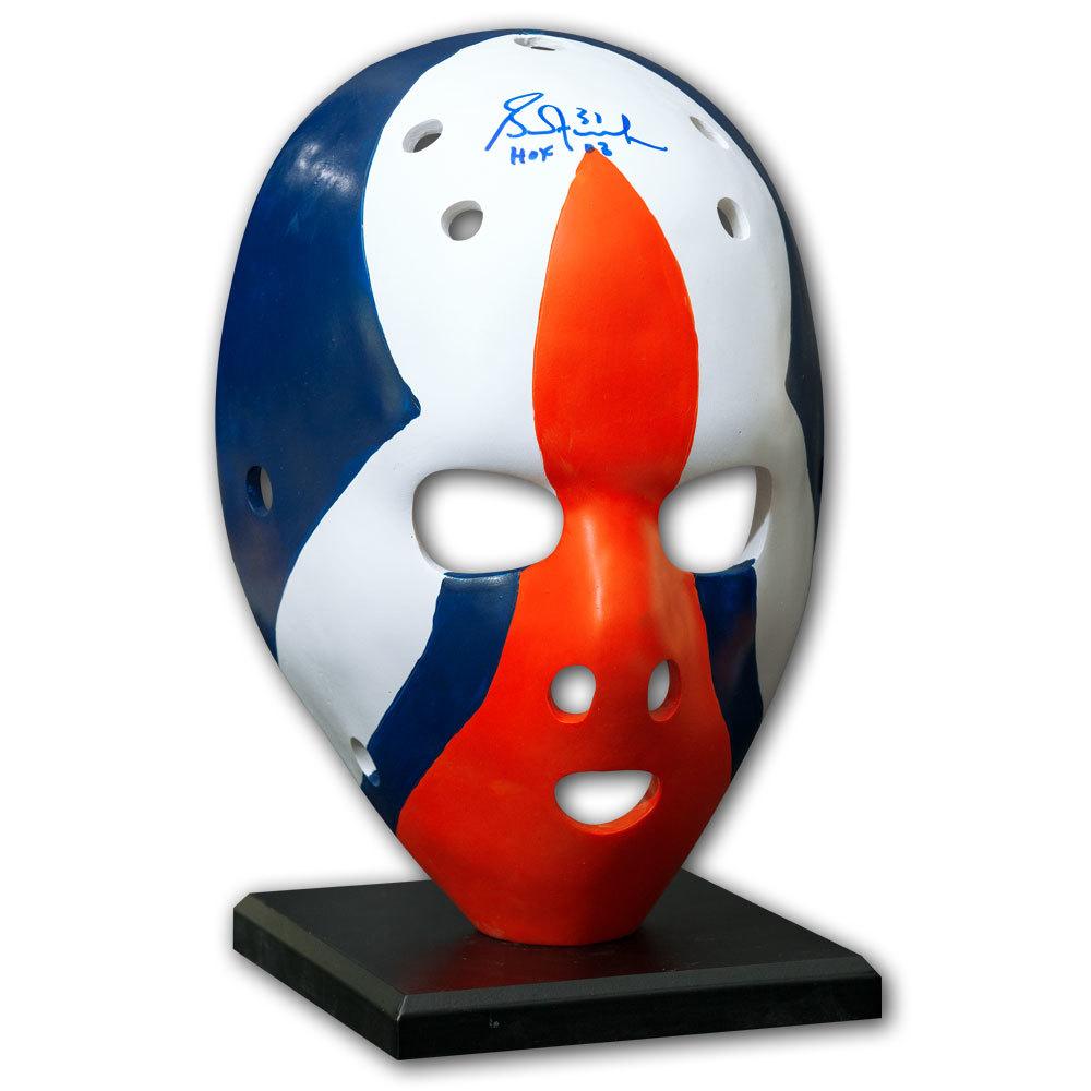 Grant Fuhr Edmonton Oilers Rookie Autographed Full Size Mask