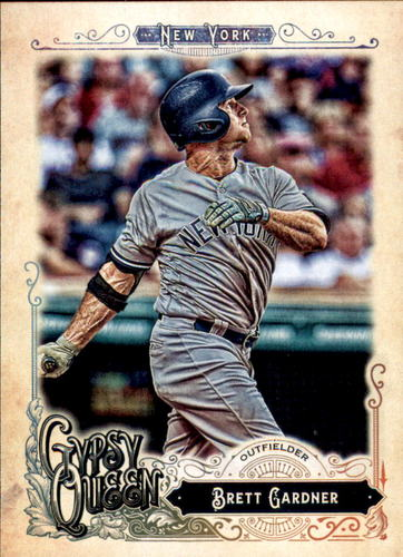 Photo of 2017 Topps Gypsy Queen #73 Brett Gardner