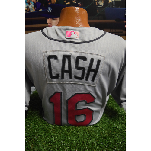 Photo of Game-Used Mother's Day Jersey: Kevin Cash