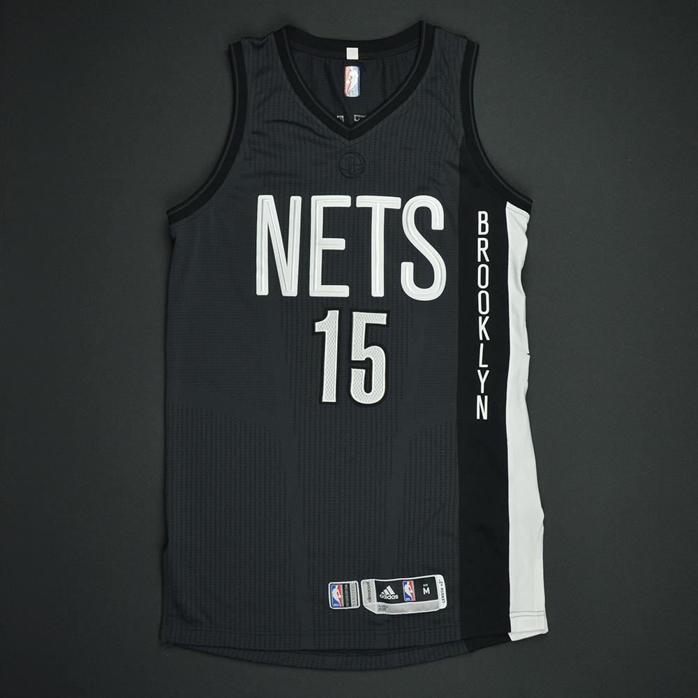 Isaiah Whitehead - Brooklyn Nets - Game-Worn Black Alternate Jersey - Dressed, Did Not Play - 2016-17 Season
