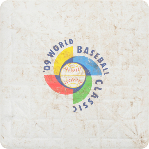 2009 WBC: Round 2 - United States vs. Puerto Rico Game-Used 3rd Base