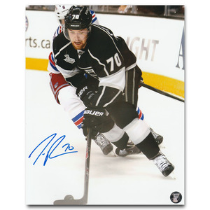 Tanner Pearson Autographed Los Angeles Kings 8X10 Photo