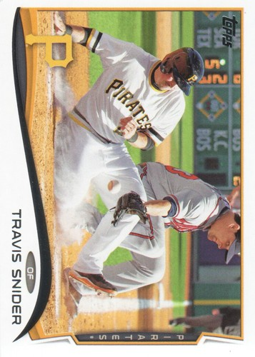 Photo of 2014 Topps #527 Travis Snider