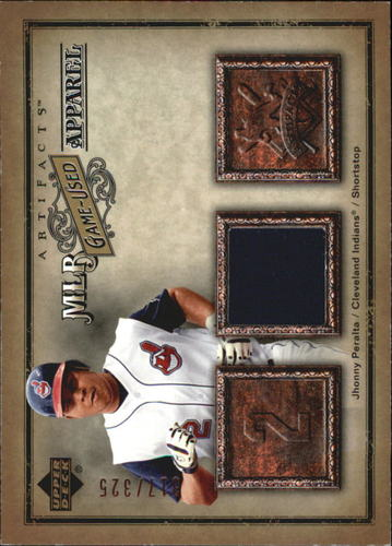 Photo of 2006 Artifacts MLB Game-Used Apparel #JP Jhonny Peralta Jsy/325