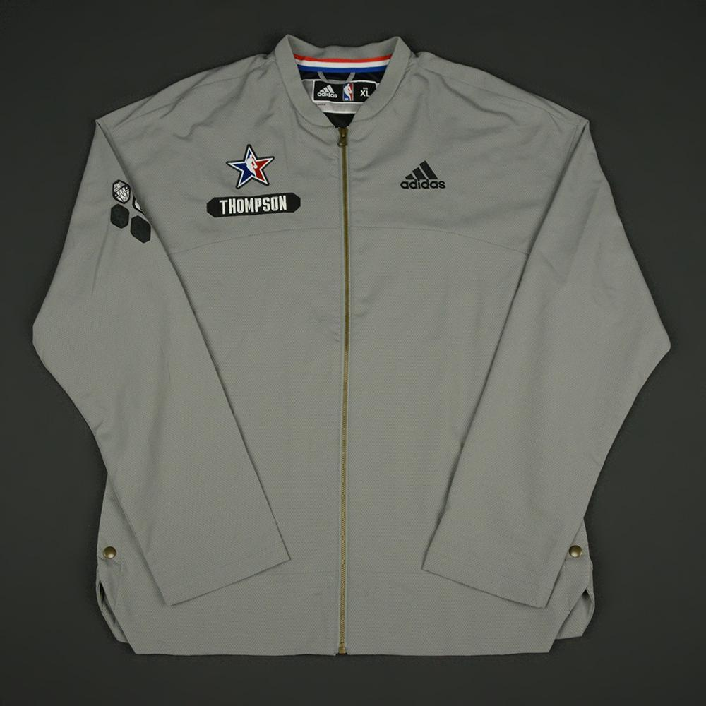 Klay Thompson - 2017 NBA All-Star Game - Western Conference - Warmup-Worn Jacket