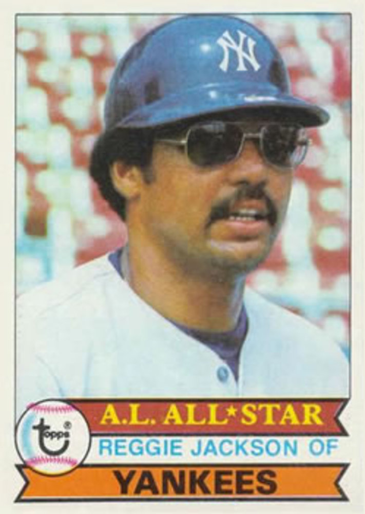 1979 Topps #700 Reggie Jackson -- Hall of Famer