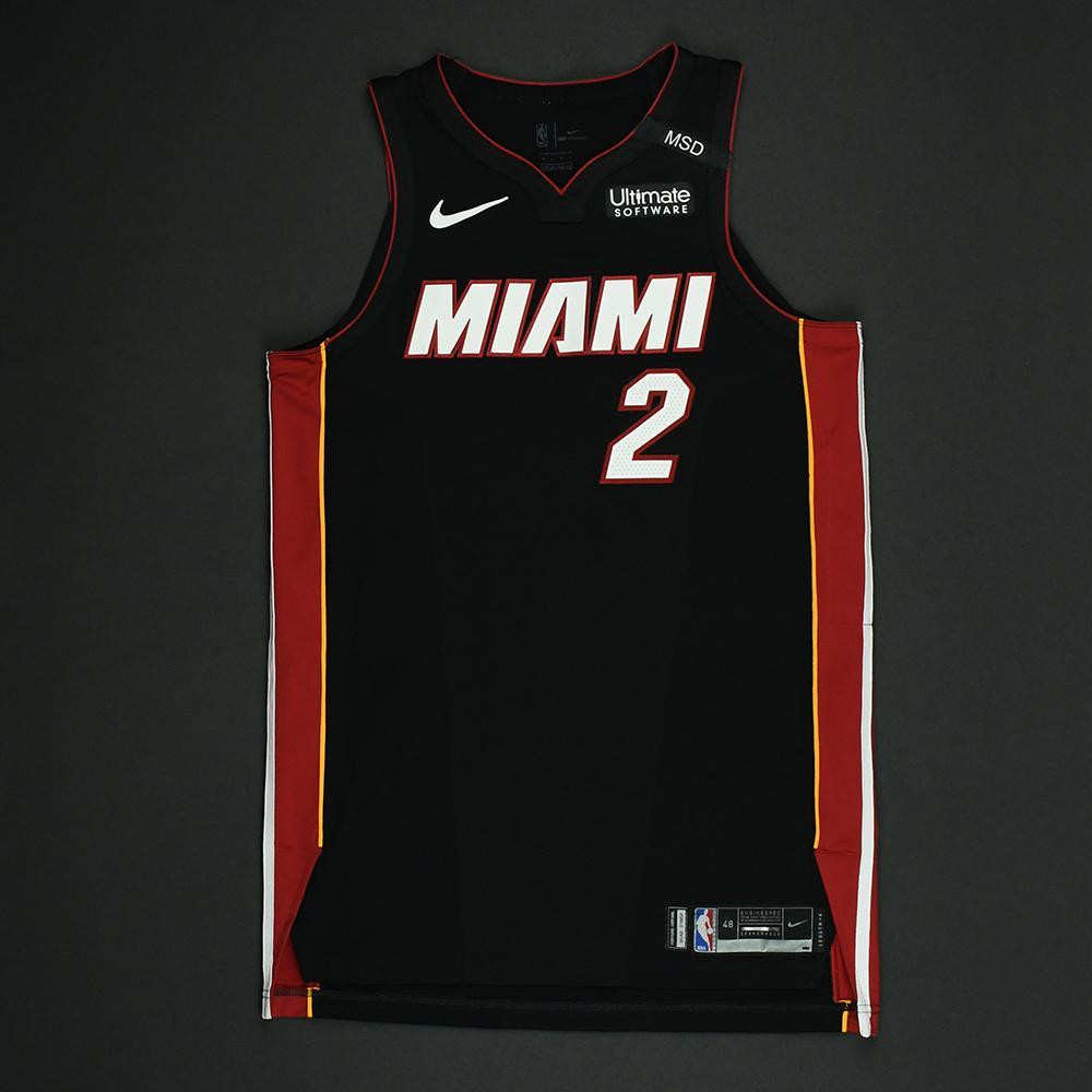 Wayne Ellington - Miami Heat - 2018 NBA Playoffs Game-Worn Jersey
