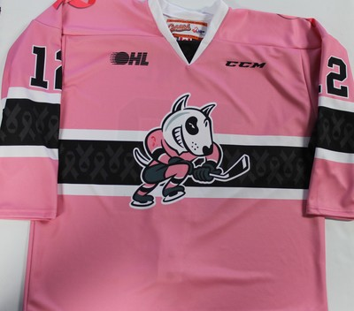 Blank #16 Pink Jersey
