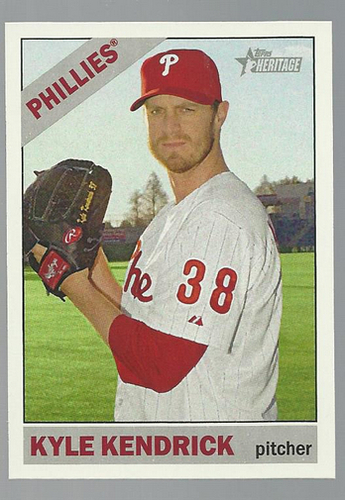 Photo of 2015 Topps Heritage #397 Kyle Kendrick