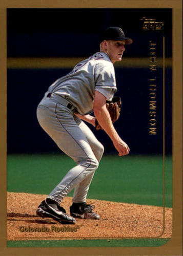 Photo of 1999 Topps #372 John Thomson