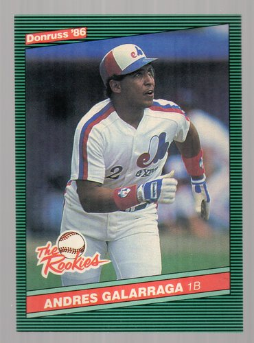 Photo of 1986 Donruss Rookies #7 Andres Galarraga