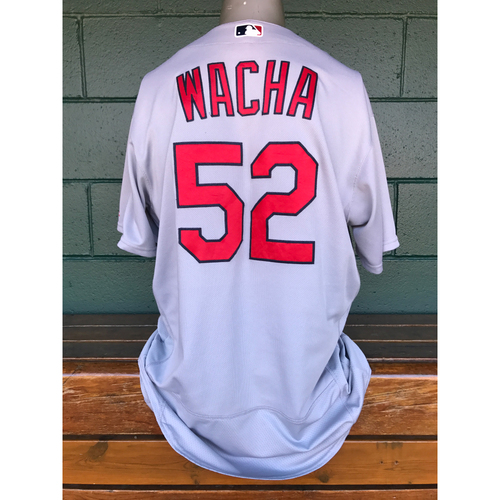 Photo of Cardinals Authentics: Michael Wacha Team-Issued Road Gray Jersey