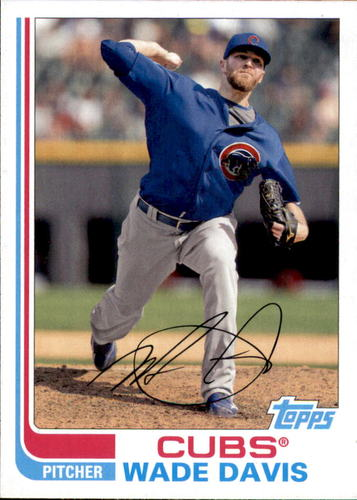 Photo of 2017 Topps Archives #165 Wade Davis Cubs post-season