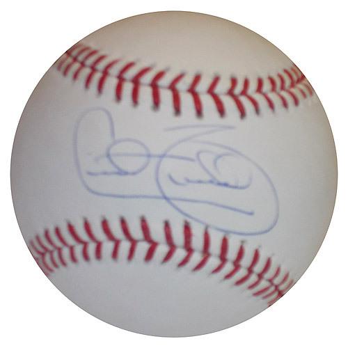 Detroit Tigers Cecil Fielder Autographed Baseball