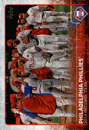 Photo of 2015 Topps #441 Philadelphia Phillies