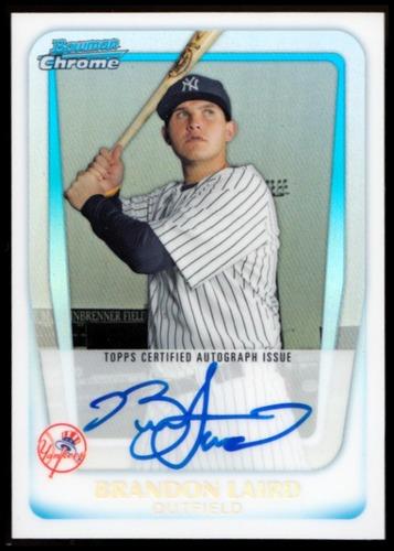 Photo of 2011 Bowman Chrome Prospect Autographs Refractors #BCP214 Brandon Laird