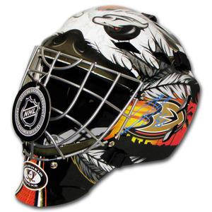 John Gibson Autographed Anaheim Ducks Replica Goalie Mask