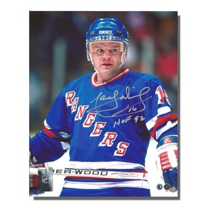 Marcel Dionne Autographed New York Rangers 8x10 Photo