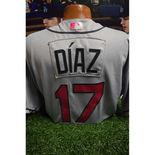 Photo of Game-Used Mother's Day Jersey: Jumbo Diaz